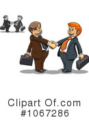 Businessmen Clipart #1067286 by Vector Tradition SM