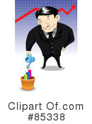 Royalty-Free (RF) Businessmen Clipart Illustration #85338