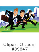 Royalty-Free (RF) Businessmen Clipart Illustration #89647