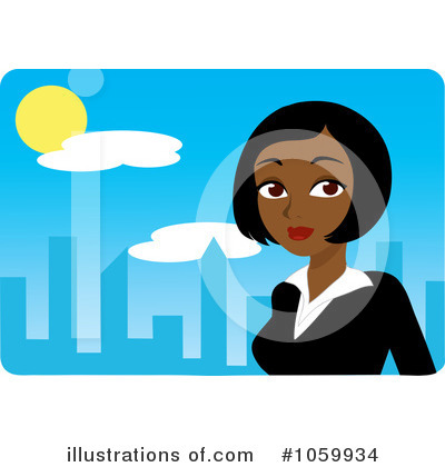 City Clipart #1059934 by Rosie Piter