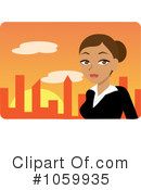 Businesswoman Clipart #1059935 by Rosie Piter