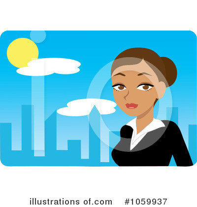 City Clipart #1059937 by Rosie Piter