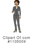 Businesswoman Clipart #1105009 by Cartoon Solutions