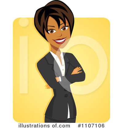 Woman Clipart #1107106 by Amanda Kate