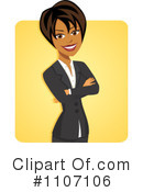 Businesswoman Clipart #1107106 by Amanda Kate