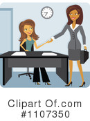 Businesswoman Clipart #1107350 by Amanda Kate