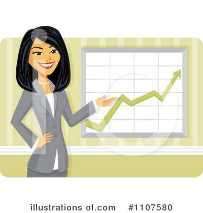 Asian Businesswoman Clipart #1107580 by Amanda Kate