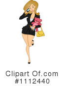 Royalty-Free (RF) businesswoman Clipart Illustration #1112440