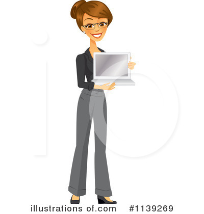 Businesswoman Clipart #1139269 by Amanda Kate