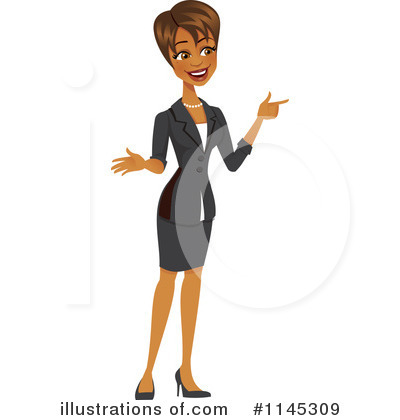 Businesswoman Clipart #1145309 by Amanda Kate