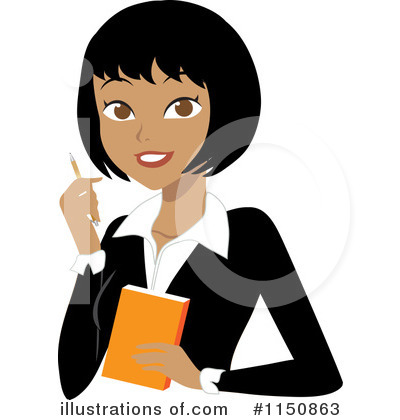 Asian Businesswoman Clipart #1150863 by Rosie Piter