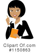 Businesswoman Clipart #1150863 by Rosie Piter
