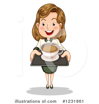 Business Woman Clipart #1231861 by Graphics RF