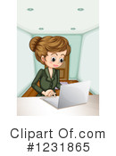 Businesswoman Clipart #1231865 by Graphics RF