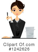 Businesswoman Clipart #1242626 by BNP Design Studio
