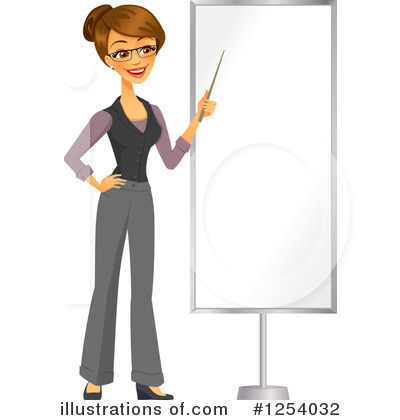 Businesswoman Clipart #1254032 by Amanda Kate