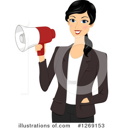 Royalty-Free (RF) Businesswoman Clipart Illustration by BNP Design Studio - Stock Sample #1269153