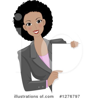 Businesswoman Clipart #1276797 by BNP Design Studio