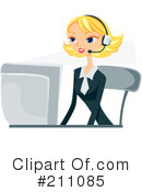 Businesswoman Clipart #211085 by BNP Design Studio