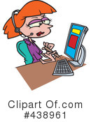 Businesswoman Clipart #438961 by toonaday