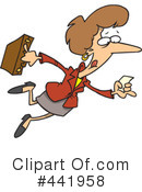 Businesswoman Clipart #441958 by toonaday