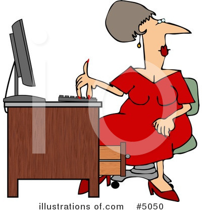 Secretary Clipart #5050 by djart