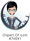 Businesswoman Clipart #74591 by Melisende Vector