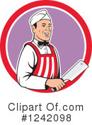 Royalty-Free (RF) Butcher Clipart Illustration #1242098