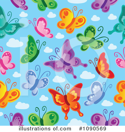 Butterfly Clipart #1090569 by visekart