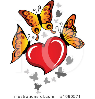Heart Clipart #1090571 by visekart