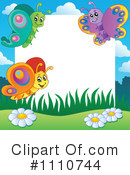 Butterfly Border Clipart #1 - 23 Royalty-Free (RF) Illustrations