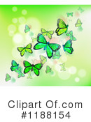 Royalty-Free (RF) Butterflies Clipart Illustration #1188154