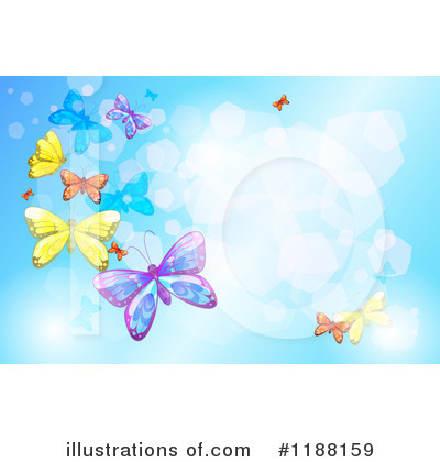 Butterfly Clipart #1188159 by Graphics RF