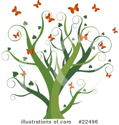 Tree Clipart #22496 by Tonis Pan