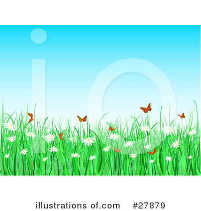 Daisies Clipart #27879 by KJ Pargeter