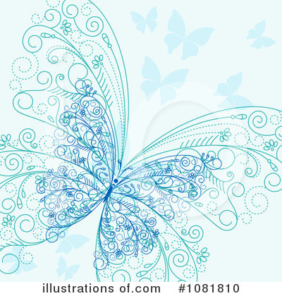 Butterfly Clipart #1081810 by Vector Tradition SM