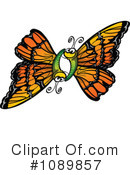 Butterfly Clipart #1089857 by Zooco