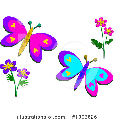 Royalty-Free (RF) Butterfly Clipart Illustration by bpearth - Stock ...