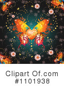 Butterfly Clipart #1101938 by merlinul