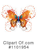 Butterfly Clipart #1101954 by merlinul