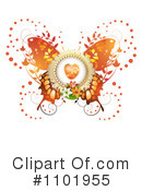 Butterfly Clipart #1101955 by merlinul