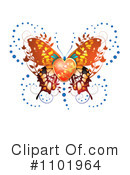Butterfly Clipart #1101964 by merlinul