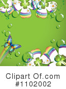 Royalty-Free (RF) Butterfly Clipart Illustration #1102002