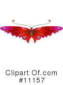 Royalty-Free (RF) Butterfly Clipart Illustration #11157