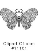 Royalty-Free (RF) Butterfly Clipart Illustration #11161