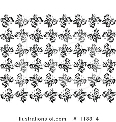 Butterfly Clipart #1118314 by Vector Tradition SM