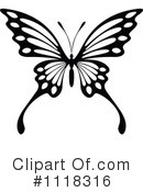 Royalty-Free (RF) butterfly Clipart Illustration #1118316