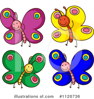 Butterfly Clipart #1120736 by Graphics RF