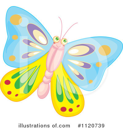 Butterfly Clipart #1120739 by Graphics RF