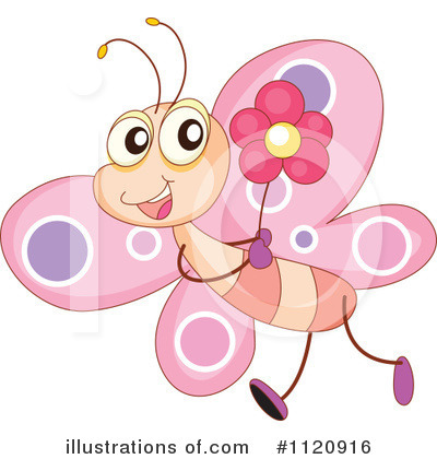 Butterfly Clipart #1120916 by Graphics RF
